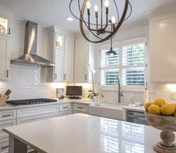 Heritage Shades in a Kitchen